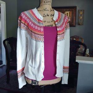 Women's Sweater Cardigan Size M